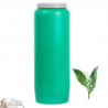 Novena candle - Light green - Lily of the valley perfume