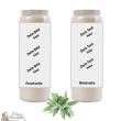 Sage fragrance novena candle - customizable