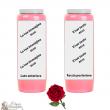 Lys novena candle - customizable