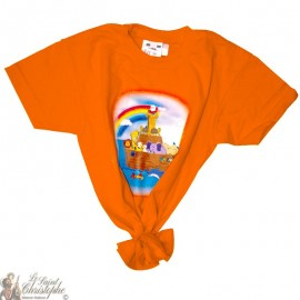 Children's T-Shirt - Noah's Ark orange