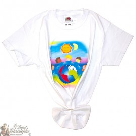 Children's T-Shirt - World white