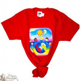Children's T-Shirt - World red