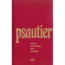 Pocket Psalter red canvas