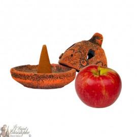 Artisanal incense burner - Apple
