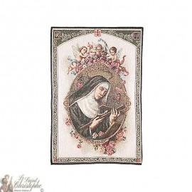 Tapestry of Saint Rita - 50 x 70 cm