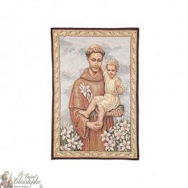 Tapestry of Saint Anthony - 69 x 46 cm