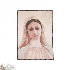 Tapestry of Our Lady Medjugorje - 50 x 70 cm