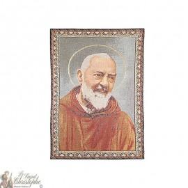 Tapestry of Padre Pio - 50 x 70 cm