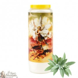 Sage Novena Candle for Saint Michael - 1
