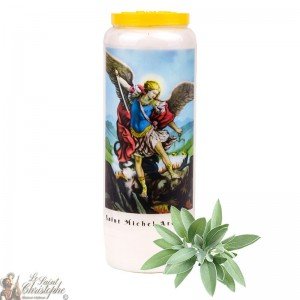 Sage Novena Candle for Saint Michael - 4