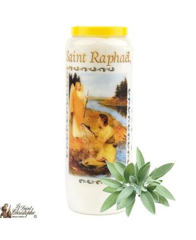 Sage Novena Candle at Saint Raphael - 2