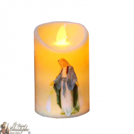 Led candle with flickering flame