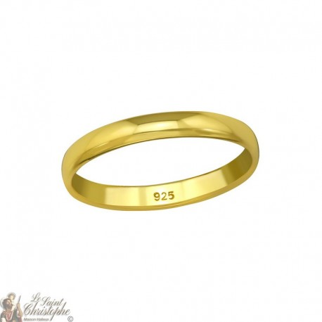 Gold-plated ring - Silver 925