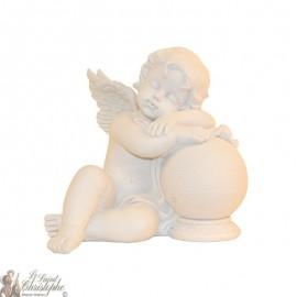 Sleeping Angel Statue on ball