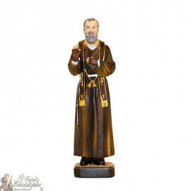 Resin Statue of Padre Pio - 20 cm