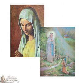 2D hologram poster Virgin of the Poor - Appearance in Banneux