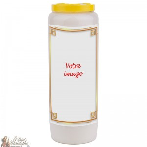 Novena candle for the deceased 1 - customizable