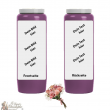 Novena candle scented floral bouquet - customizable - box 20 pieces