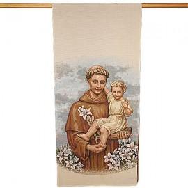 Tapestry banner of Saint Anthony - 58 x 124 cm