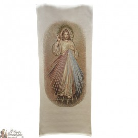 Tapestry banner of the Merciful Christ - 58 x 124 cm