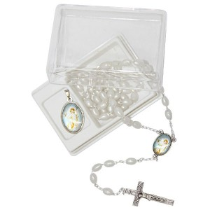 Rosary and medal gift box - 1