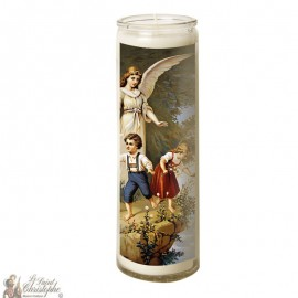 Candle 7 days in glass Guardian Angel - 2