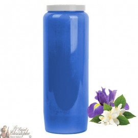 Novena candles scented with Jasmine and Iris