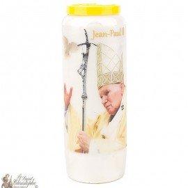 Candela Novena a San Giovanni Paolo II - colomba - preghiera