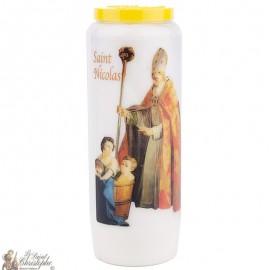 Noveenkaars  in Sinterklaas model 2 - gebed