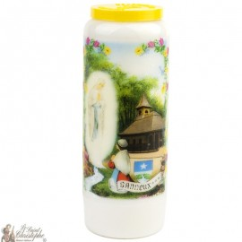 Novena Candle To The Virgin from Banneux  - German prayer