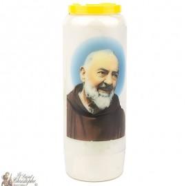 Novena Candle to Padre Pio - German Prayer