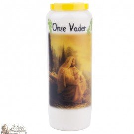 Novena Candle to Our Father - Dutch Prayer