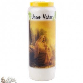 Novena Candle to our Father - German Prayer