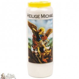Novena candle to Saint Michael 2 - German Prayer