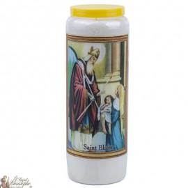 Novena Candle to Saint Blake - French Prayer