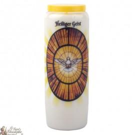 Novene Kerze zum Heiligen Geist - Gebet
