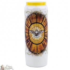 Novene Kerze zum Heiligen Geist - Englisch Gebet