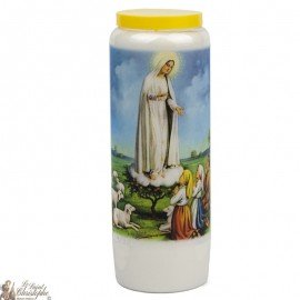 Novena candle to Fatima - Dutch prayer