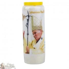Novena Candle to John Paul II - German Prayer