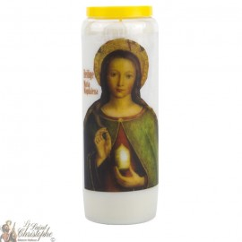 Novena Candle to Saint Mary Magdalen - German Prayer