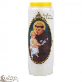 Novena Candle to Saint Anthony - German Prayer