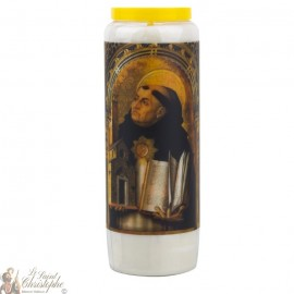 Novena Candle to Saint Thomas Aquinas - German Prayer