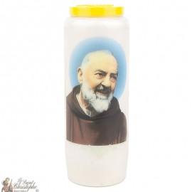 Bougie de neuvaine a Padre Pio