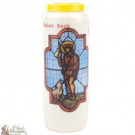 Novena Candle to  Saint Roch