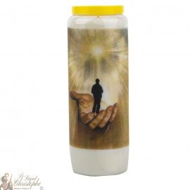 "Novena Candle ""Father, bless us"" - German prayer"