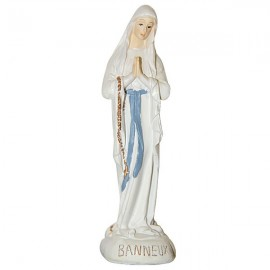 Statue of the Virgin of the Poor of Banneux N.D - 10 cm