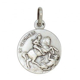 Saint Georges Medal - silver 925