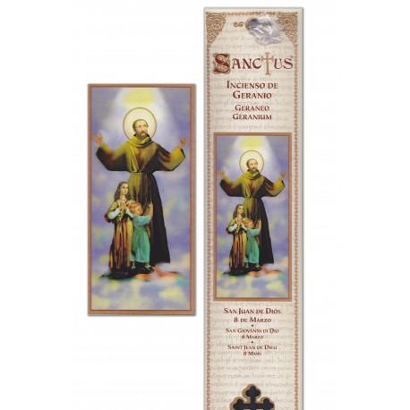 """Pochette encens """"San Juan de Dios"""" - 15 pces - 60gr"""