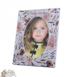 Cornice per foto bambino - nome personalizzabile