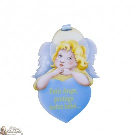 Baby protection angel wall plaque